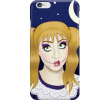 creepy doll iPhone Case/Skin