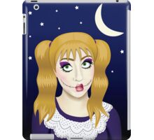 creepy doll iPad Case/Skin