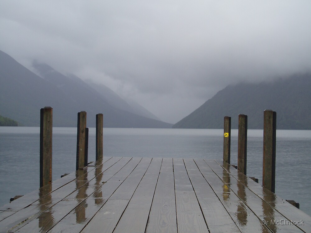 Lake Rotiti, Nelson Lakes NZ by Dr McClintock