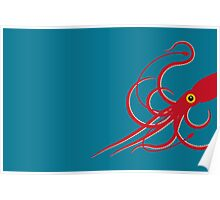 Giant Squid Poster