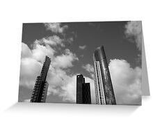 3 Towers Greeting Card