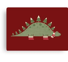 Christmasaurus Canvas Print