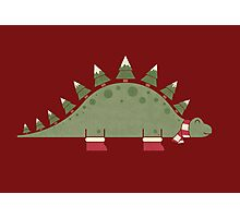 Christmasaurus Photographic Print
