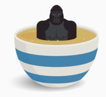 Gorilla In Custard Kids Clothes
