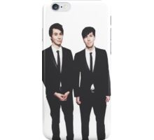 Dan and Phil in suits iPhone Case/Skin