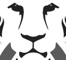 Lion Haze - Black & White King Sticker