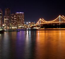 Story Bridge & Brisbane City - Queensland, Australia by Brendan Rouse
