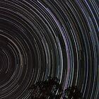 Star trails by David James