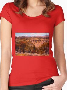 Beautiful Hills Women's Fitted Scoop T-Shirt