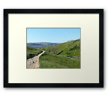 Walking in the Yorkshire Dales Framed Print