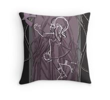 Night In My Veins Throw Pillow