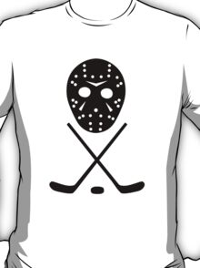 Ice Hockey Sticks and Mask T-Shirt