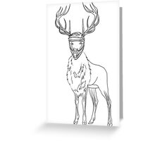 Mx Forest God Greeting Card