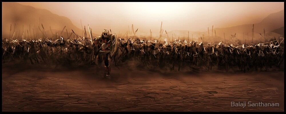 BattleField by Balaji Santhanam