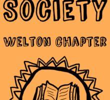 Society Crest (Tiger) Sticker