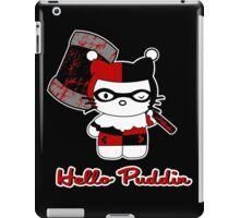 Harley Kitty  iPad Case/Skin