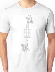 giraffe 2 Unisex T-Shirt