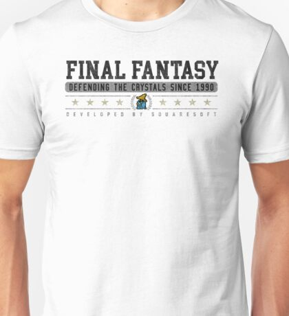 Final Fantasy - Vintage - White Unisex T-Shirt