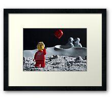 Lego Astronaut Framed Print