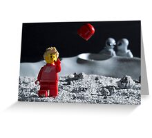 Lego Astronaut Greeting Card
