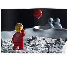 Lego Astronaut Poster