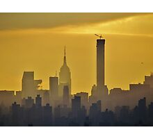 Misty afternoon in New York City Photographic Print