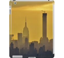 Misty afternoon in New York City iPad Case/Skin