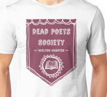 Society Crest (Burgundy) Unisex T-Shirt