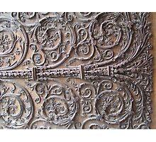 Porte de la Cathédrale Notre Dame de Paris Photographic Print