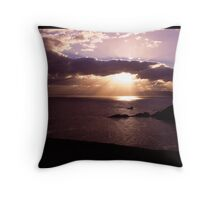Sunsetting at Cape Bruny Throw Pillow