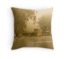 Echuca port Throw Pillow