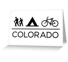 Colorado Lifestyle Greeting Card