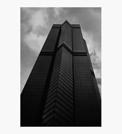 Looking Up v6 - The Centre, Hong Kong Photographic Print