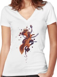 Fallacy Women's Fitted V-Neck T-Shirt