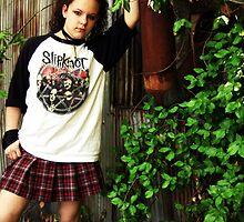 Gothic senior photo by kylerichie