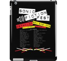 Sonic Fiction Fest iPad Case/Skin