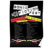 Sonic Fiction Fest Poster
