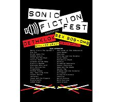 Sonic Fiction Fest Photographic Print