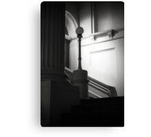 Ethereal pillar light Canvas Print