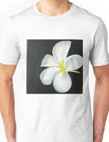 THE WHITE FLOWER Unisex T-Shirt