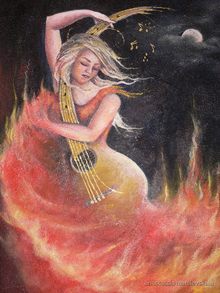 flamenco by anastassia matsievskaia