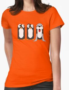 Seal Costume Penguin Womens Fitted T-Shirt