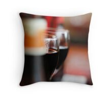 A Glass or Two.. Throw Pillow