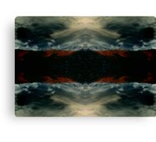 Reflect my sky Canvas Print