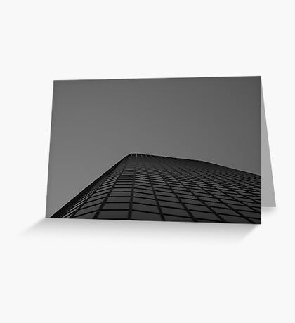 Looking Up v7 - Melbourne CBD Greeting Card