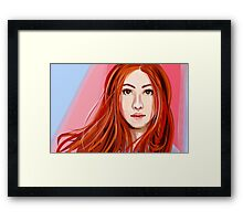 Amy Pond  Framed Print