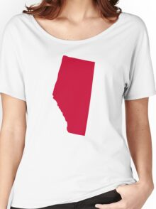 Canada Alberta Women's Relaxed Fit T-Shirt