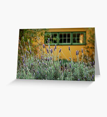 Lavender Cottage Greeting Card