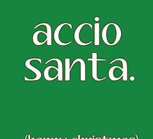 Accio Santa by writerfolk