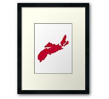 Canada Nova Scotia Framed Print